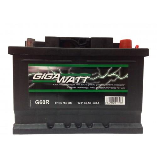 Аккумулятор Gigawatt G60R